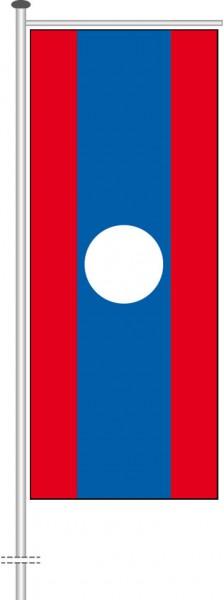 Laos als Auslegerfahne