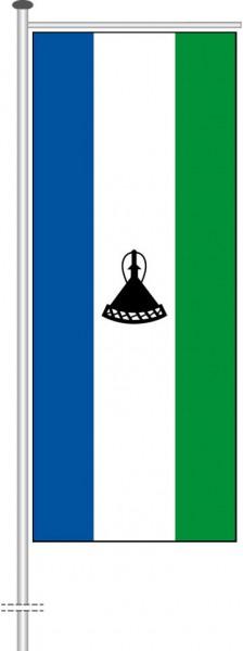 Lesotho als Auslegerfahne