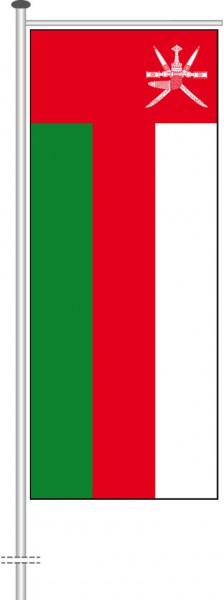 Oman als Auslegerfahne