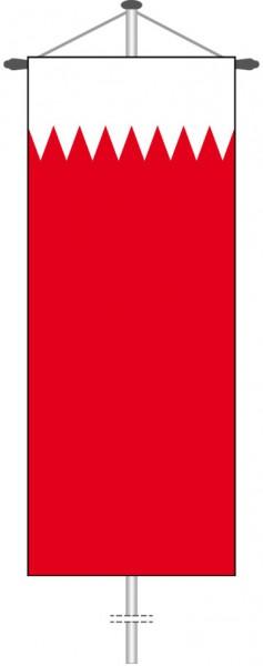 Bahrain als Bannerfahne