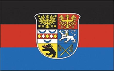 Ostfriesland als Fanfahne