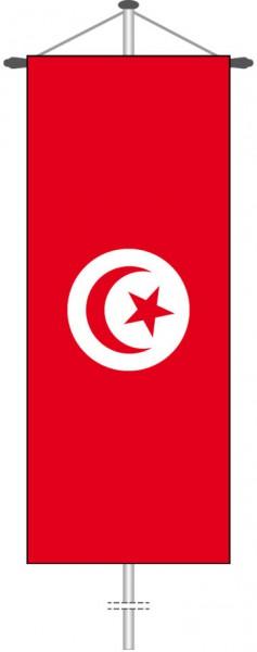 Tunesien als Bannerfahne