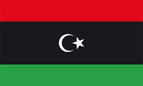 Libyen als Fanfahne