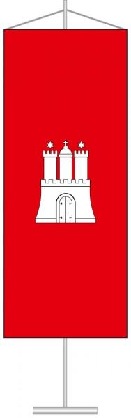 Hamburg - Bürgerflagge als Tischbanner
