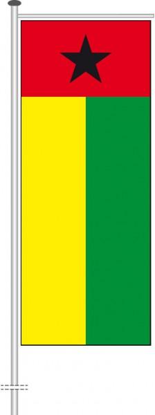 Guinea-Bissau als Auslegerfahne