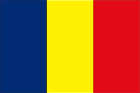 Tschad als Fanfahne