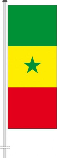 Senegal als Hochformatfahne