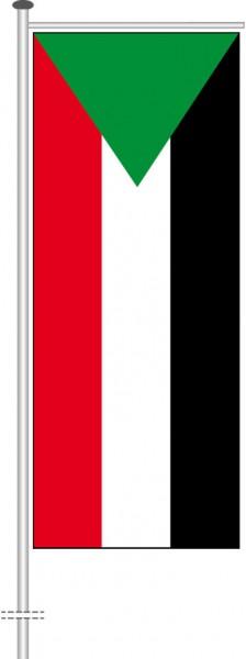 Sudan als Auslegerfahne