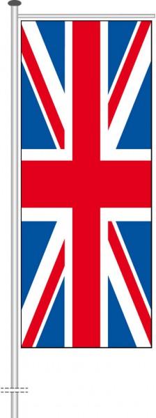 Großbritannien als Auslegerfahne
