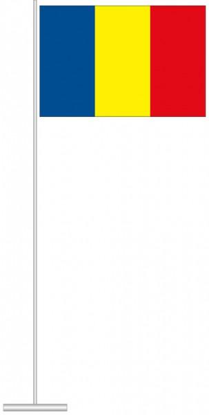 Rumaenien als Tischfahne