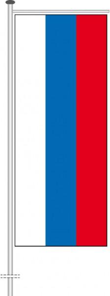Russland als Auslegerfahne