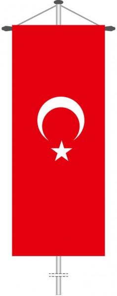 Türkei als Bannerfahne