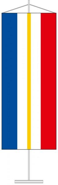 Mecklenburg-Vorpommern - Streifenflagge als Tischbanner