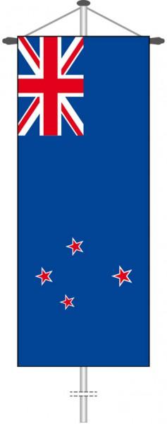 Neuseeland als Bannerfahne