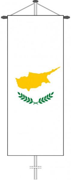 Zypern als Bannerfahne