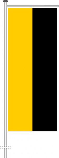 Sachsen-Anhalt - Streifenflagge als Auslegerfahne