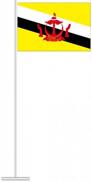 Brunei als Tischfahne