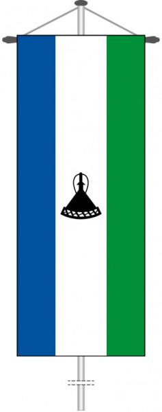 Lesotho als Bannerfahne
