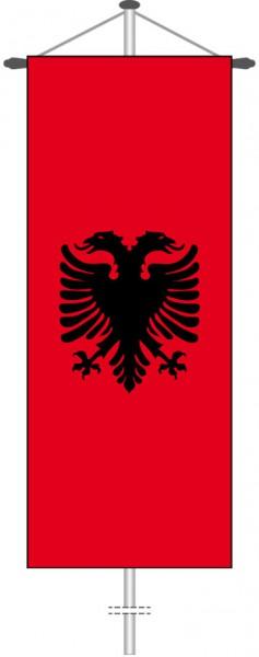 Albanien als Bannerfahne