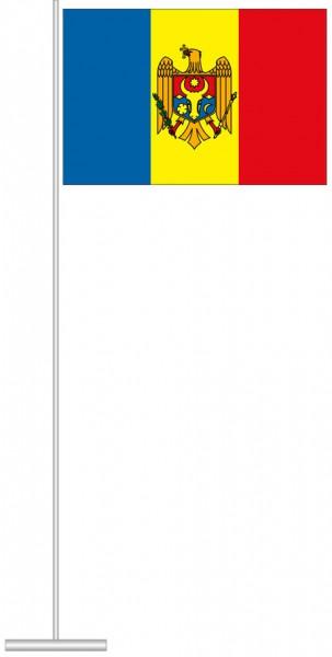 Moldawien als Tischfahne
