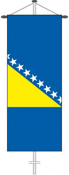 Bosnien Herzegowina als Bannerfahne