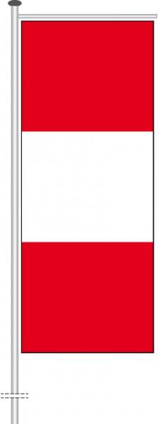 Peru als Auslegerfahne