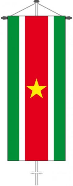 Suriname als Bannerfahne