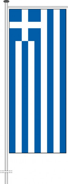 Griechenland als Auslegerfahne