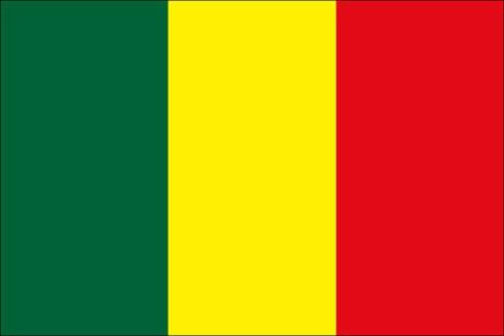Mali als Fanfahne
