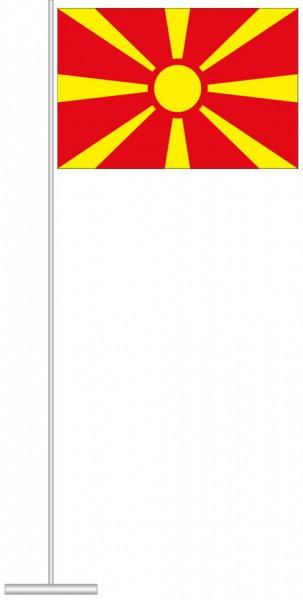 Mazedonien als Tischfahne
