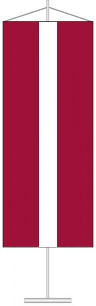 Lettland als Tischbanner