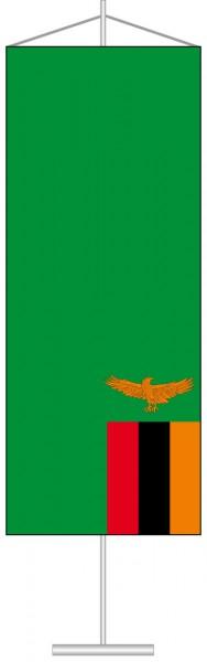 Sambia als Tischbanner
