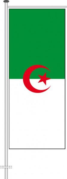 Algerien als Auslegerfahne