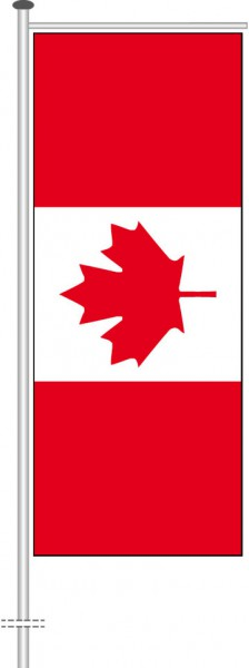 Kanada als Auslegerfahne