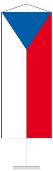 Tschechische Republik als Tischbanner
