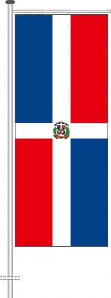 Dominikanische Republik als Auslegerfahne