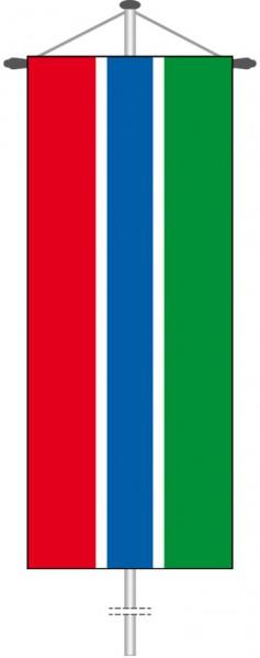 Gambia als Bannerfahne