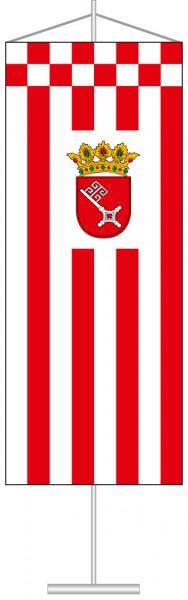 Bremen - Dienstflagge als Tischbanner