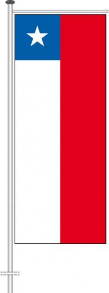 Chile als Auslegerfahne