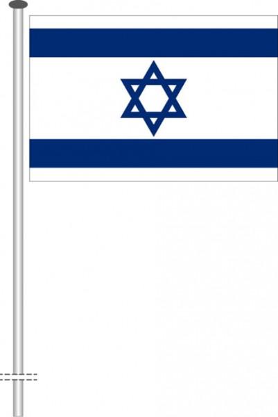 Israel als Querformatfahne