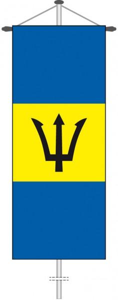 Barbados als Bannerfahne