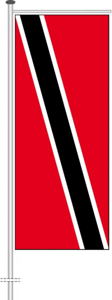 Trinidad und Tobago als Auslegerfahne
