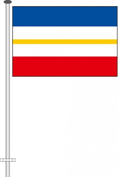 Mecklenburg-Vorpommern - Streifenflagge als Querformatfahne