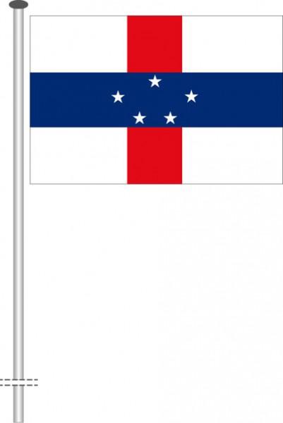 Niederlaendische Antillen als Querformatfahne