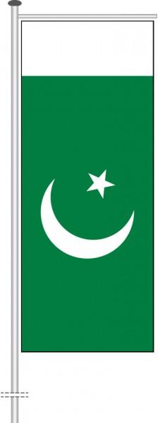 Pakistan als Auslegerfahne