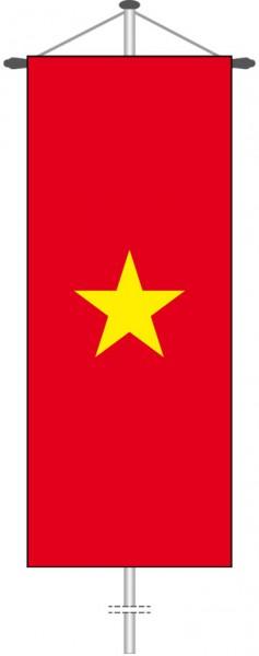 Vietnam als Bannerfahne