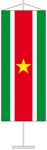 Suriname als Tischbanner