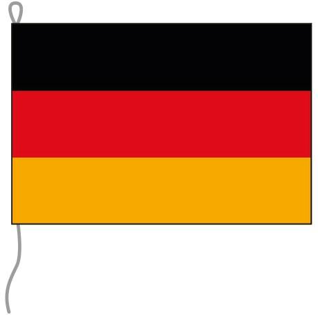 Deutschland als Bootsfahne