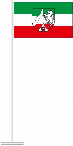 Nordrhein-Westfalen - Bürgerflagge als Tischfahne