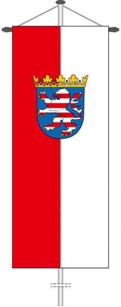 Hessen - Dienstflagge als Bannerfahne